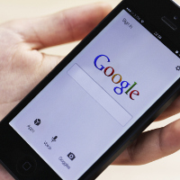 Google en un iPhone